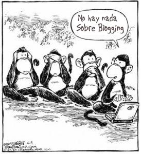 Monkeys Blogging