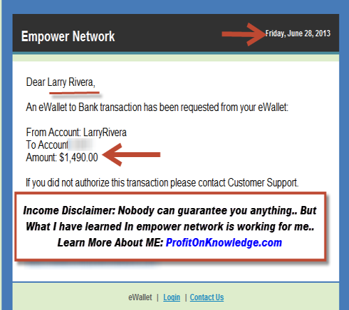 internet network marketing, larry rivera