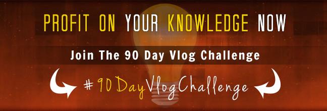 Profit On Knowledge | 90 Day Vlog Challenge