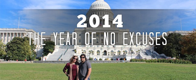 New Year 2014 | No More Excuses