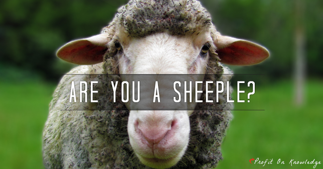 are you a sheeple
